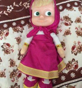 Кукла Маша из мультика Маша и Медведь