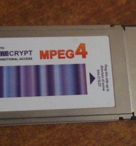 Модуль Триколор ТВ DRE crypt mpeg4