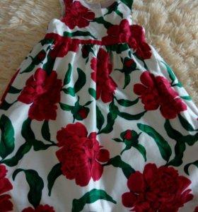 Шикарное праздничное платье джимбори