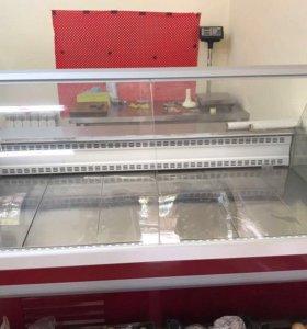 Холодильно-морозильная витрина gamma 2sn1800