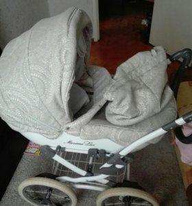 Детская коляска люлька Maxima Lux