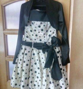 Платье + в подарок болеро
