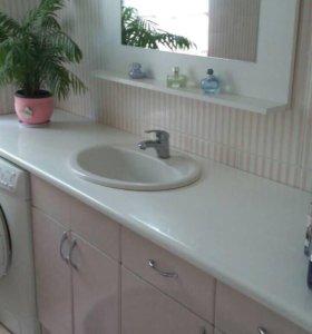 Комплект мебели для ванной, раковина