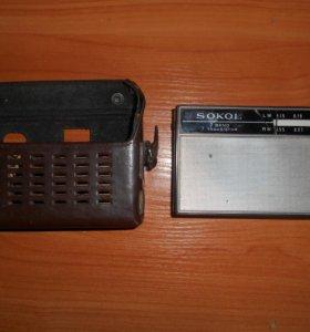 Радиоприемник sokol 2 band 7 transistor