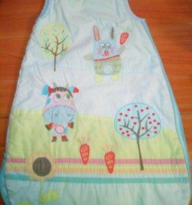 Спальный мешок детский унисекс.