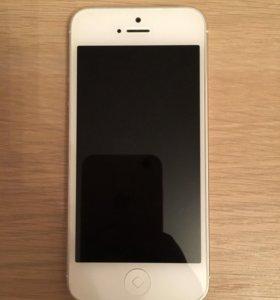Мобильный телефон Apple iPhone 5 16 Gb