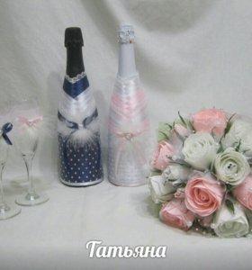 Украшения на бутылки
