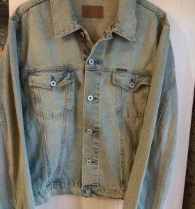 Куртка мужская джинсовая размер 54