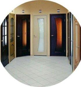 Установка м/к и входных дверей