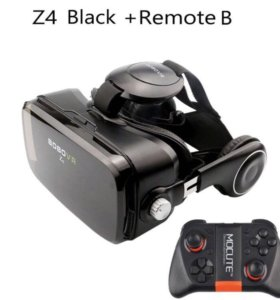 3д VR очки виртуальной + геймпад