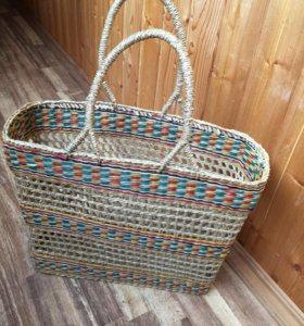 Сумка плетеная для покупок