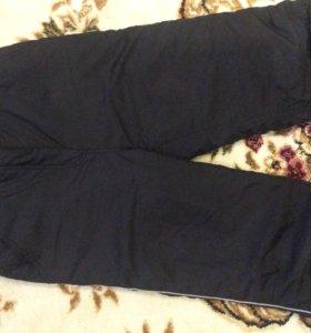 Зимние спортивные брюки рост 140