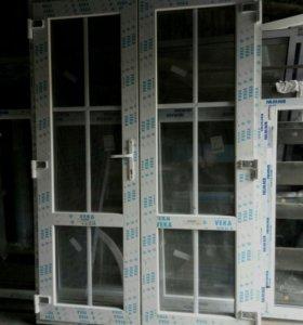 Дверь входная пластиковая 1400-2080