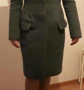 Пальто ( драп) новое