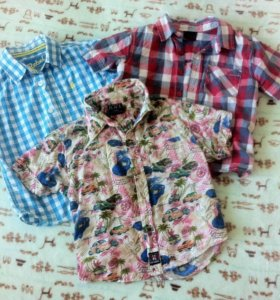 Рубашки фирменные для мальчика