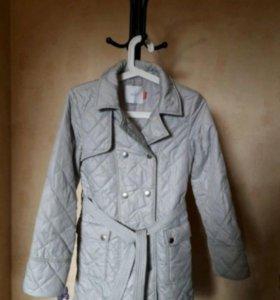 Пальто для девочки, на 11 лет