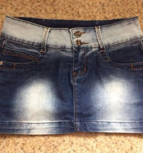 Юбка джинсовая 27 размер