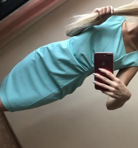 Мятное платье бренд Ashley Brooke