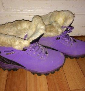 Зимние ботинки-кроссовки