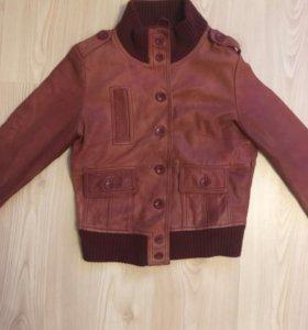 Куртка из натуральной кожи next