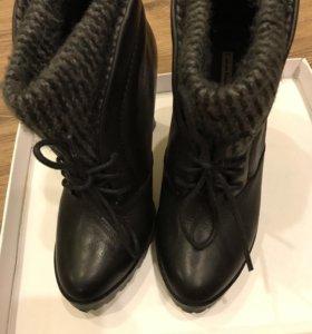 Ботинки,ботильоны Calvin Klein женские 36