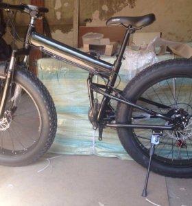 Велосипед на широких колесах (новый)