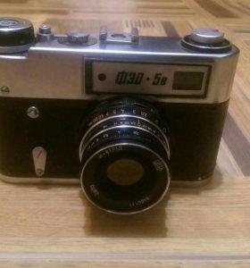 Фотоаппарат Фэд-5в в чехле