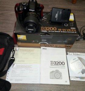 Фотоаппарат Nikon D3200 18-55VR Kit