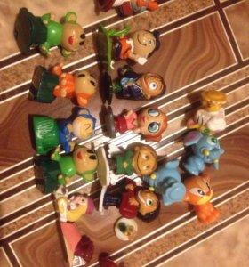 Коллекционные игрушки киндер