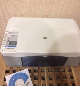 Мфу, принтер+сканер+копир hp deskjet f380
