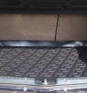коврик багажника калина хэчбек