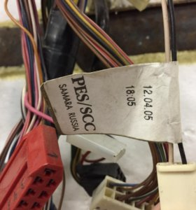 2114 проводка панели приборов Bosch