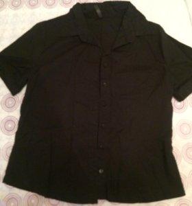 Рубашка х/б с короткими рукавами глория джинс