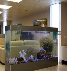 Изготовление элитных аквариумов