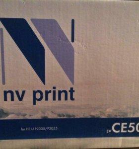 Картридж лазерный NV PRINT CE505А