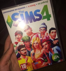 Диск Sims 4