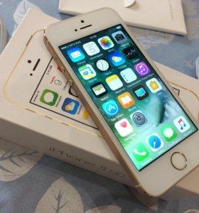 iPhone 5S 16гиг Золотой