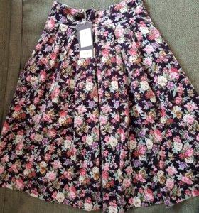 Шикарная нарядная юбка) новая