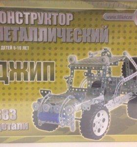 Джип Металлический конструктор