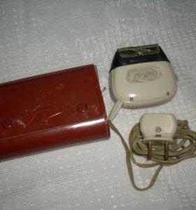 Электробритва Нева-3, СССР, рабочая