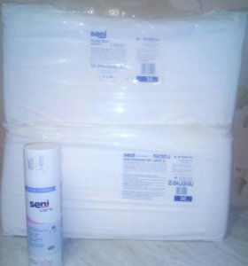 Памперсы для взрослых 2 упаковки,пенка для мытья и