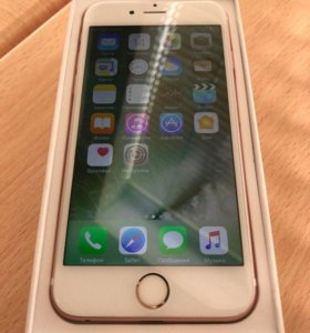 IPhone 6s, 16 rose gold.