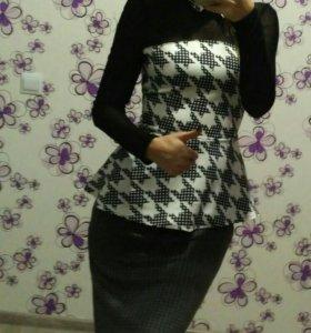 Блуза юбка новые