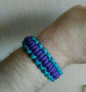 Новый браслет двухсторонний ручной работы
