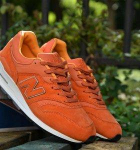 Кроссовки New Balance 997, морковь
