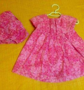 Платье сарафан Zara 9-12 мес до 80 см