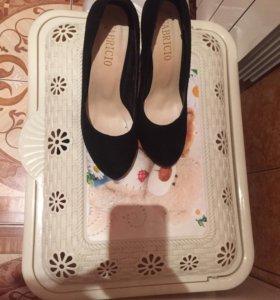 Туфли замш покупала 1600