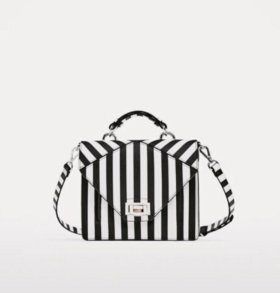 Кожаный клатч👛 Zara