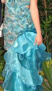 Выпускное (вечернее) платье со шлейфом
