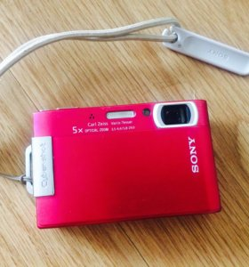 Цифровой фотоаппарат Sony Cyber-Shot DSC-T200